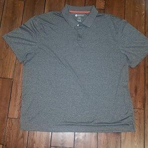 Haggar Clothing XL polo grey